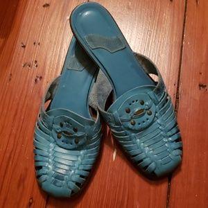Colin Stuart slide on sandals